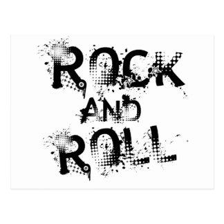 Cartão Postal Rock and roll
