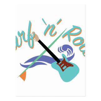 Cartão Postal Rolo do surf N