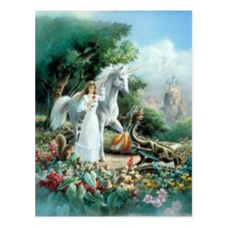 Cartão Postal Romântico