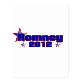 Cartão Postal Romney 2012