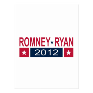 Cartão Postal Romney Ryan 2012