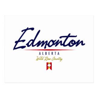 Cartão Postal Roteiro de Edmonton