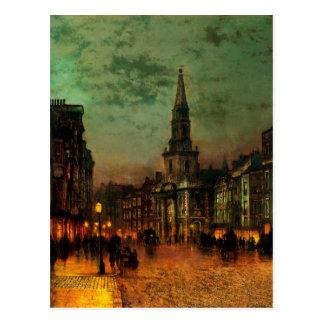 Cartão Postal Rua de Blackman, Londres por John Atkinson