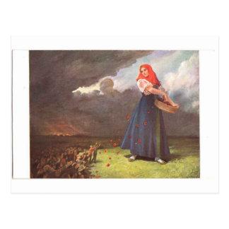 Cartão Postal Rússia nova - semeie um razoável, bom, eterno