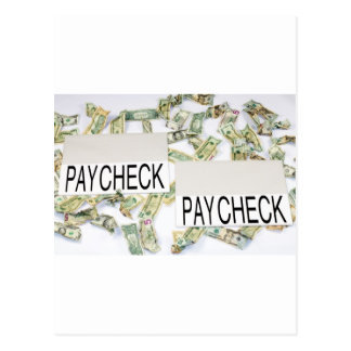 Cartão Postal Salário a pagar