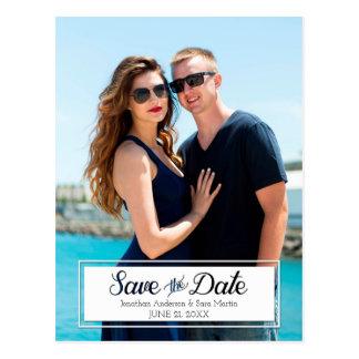 Cartão Postal Salvar a foto cortada data do vertical do texto