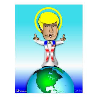 Cartão Postal Santo Donald