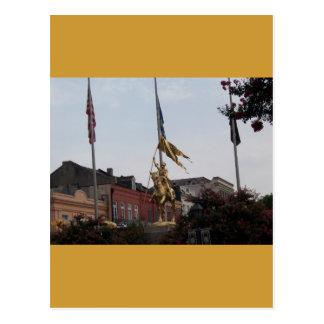 Cartão Postal Santo Joana do arco
