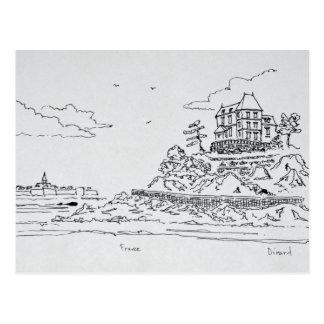 Cartão Postal Santo-Malo, Santo-Enogat | Dinard, Brittany