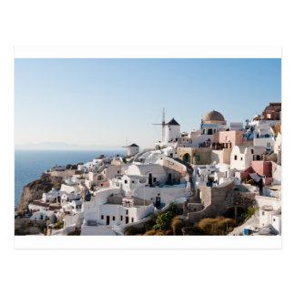 Cartão Postal Santorini