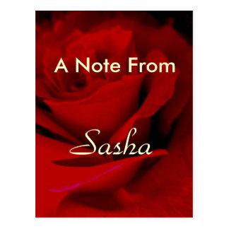Cartão Postal Sasha