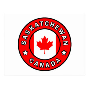Cartão Postal Saskatchewan Canadá
