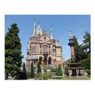 Cartão Postal Schloss Drachenburg em Drachenfels