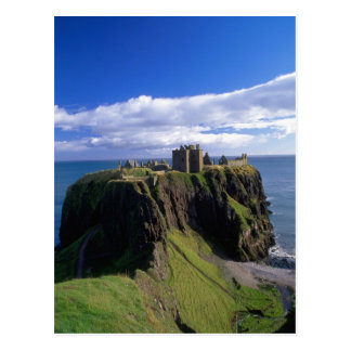 Cartão Postal Scotland, Aberdeen. Castelo de Dunnotar