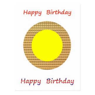 Cartão Postal Seja um líder - seja diferente:  Feliz aniversario