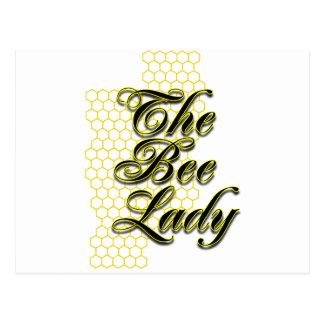 Cartão Postal senhora da abelha