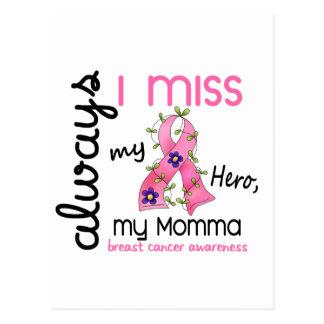 Cartão Postal Senhorita Meu Momma 3 do cancro da mama