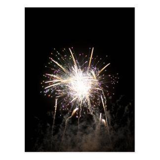 Cartão Postal Série fogo de artifício