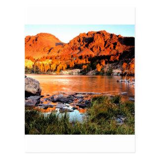 Cartão Postal Serra Nevada de Virgínia do lago