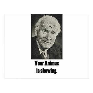 Cartão Postal Seu Animus está mostrando