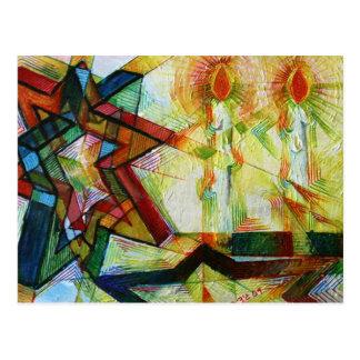 Cartão Postal Shabbat