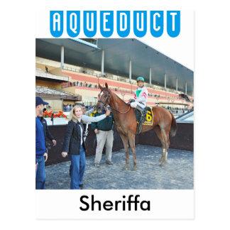 Cartão Postal Sheriffa com Cornelio Velasquez