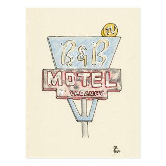 Cartão Postal Sinal do motel