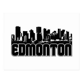 Cartão Postal Skyline de Edmonton
