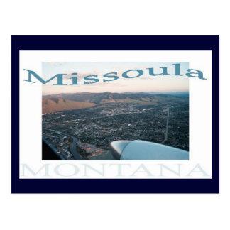 Cartão Postal Sobre Missoula, Montana