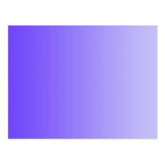Cartão Postal SOMENTE inclinações da COR - violeta