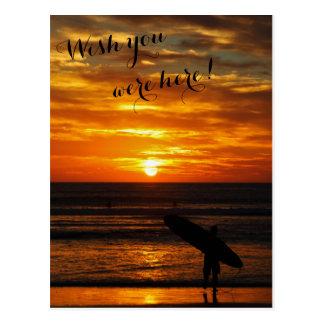 Cartão Postal Sonho do dia