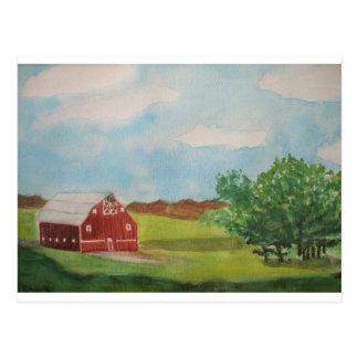 Cartão Postal Sonhos da pradaria