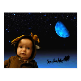 Cartão Postal sonhos da rena
