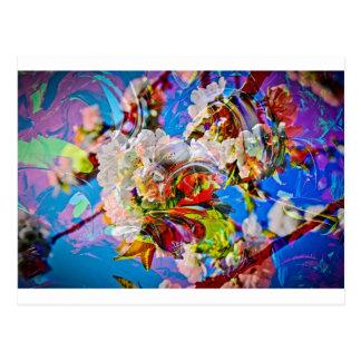 Cartão Postal Sonhos de flor 3
