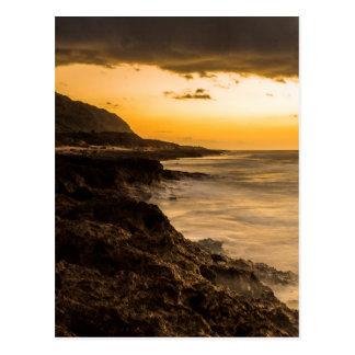 Cartão Postal Sonhos do por do sol