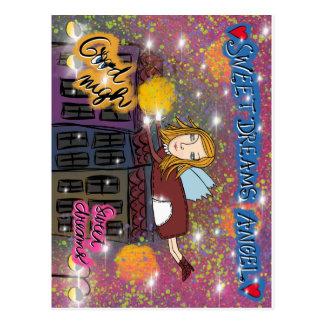 Cartão Postal Sonhos doces