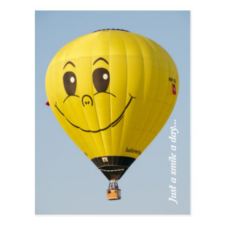 Cartão Postal Sorriso Ballooning