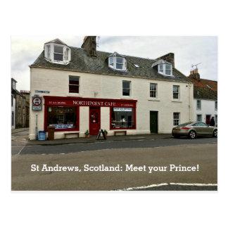 """Cartão Postal St Andrews Scotland """"reunião sua janela do"""