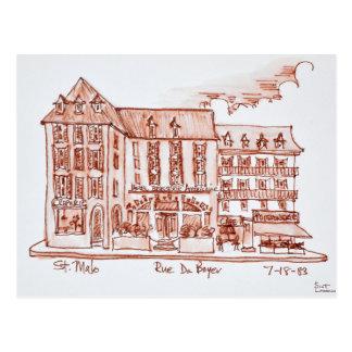 Cartão Postal St. Malo de Armoricaine | da cervejaria do hotel,