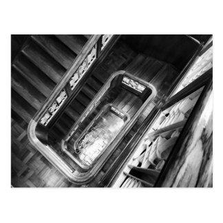 Cartão Postal stairs