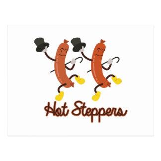 Cartão Postal Steppers quentes
