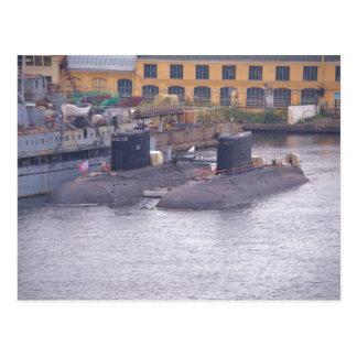 Cartão Postal Submarinos de ataque soviéticos