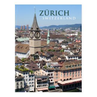 Cartão Postal suiça de Zurique