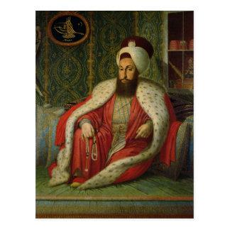 Cartão Postal Sultão Selim III, c.1803-04