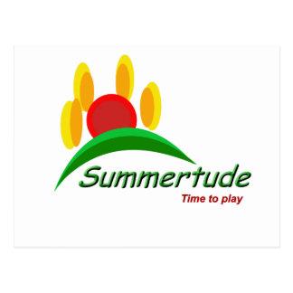 Cartão Postal Summertude 2