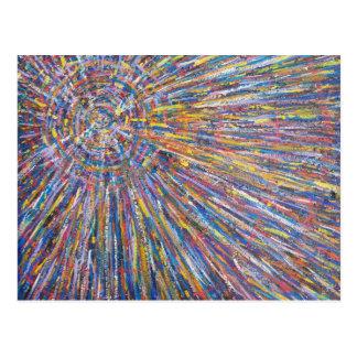 """Cartão Postal """"Supernova"""" por Thurman Hubbard"""