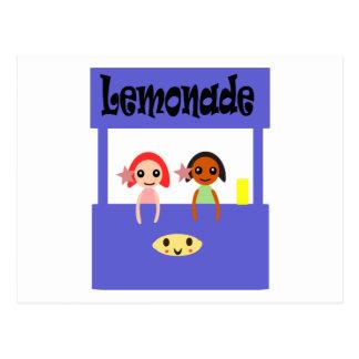 Cartão Postal Suporte de limonada