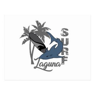 Cartão Postal Surf - Laguna