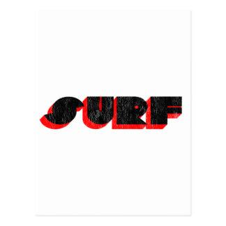 Cartão Postal surf retro