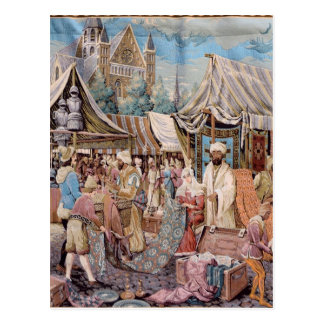 Cartão Postal tapeçaria velha
